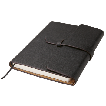 Executive A5 Notebook with Strap